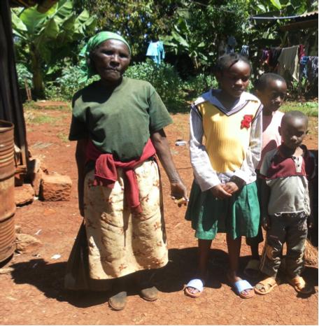 Wanja Migwi'Family