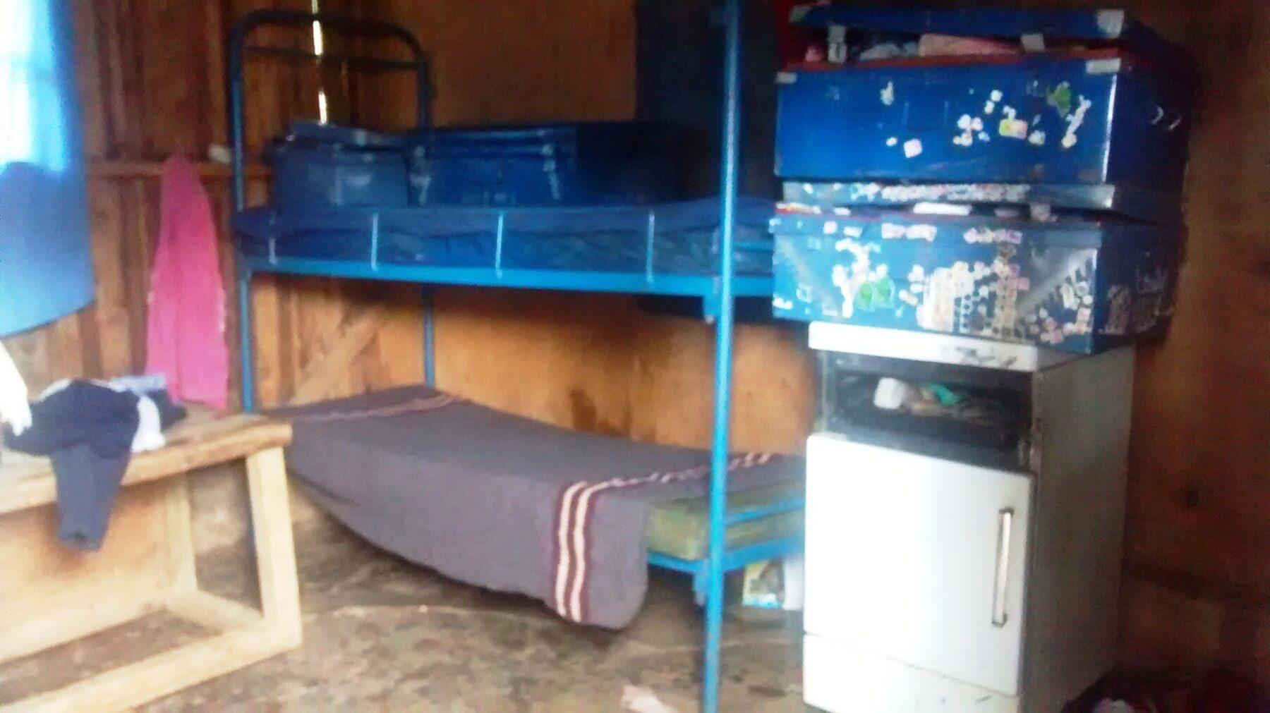 The dormitory where the kids sleep