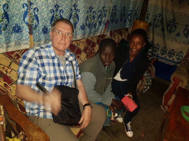 Frank, Esther Nanyiro and shiro