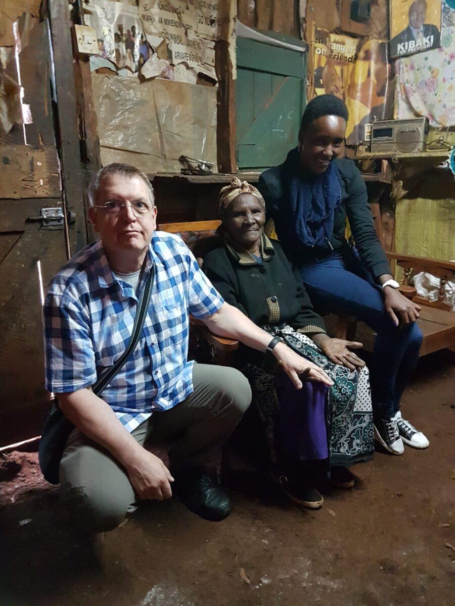 Frank, Wanja migwi and Shiro
