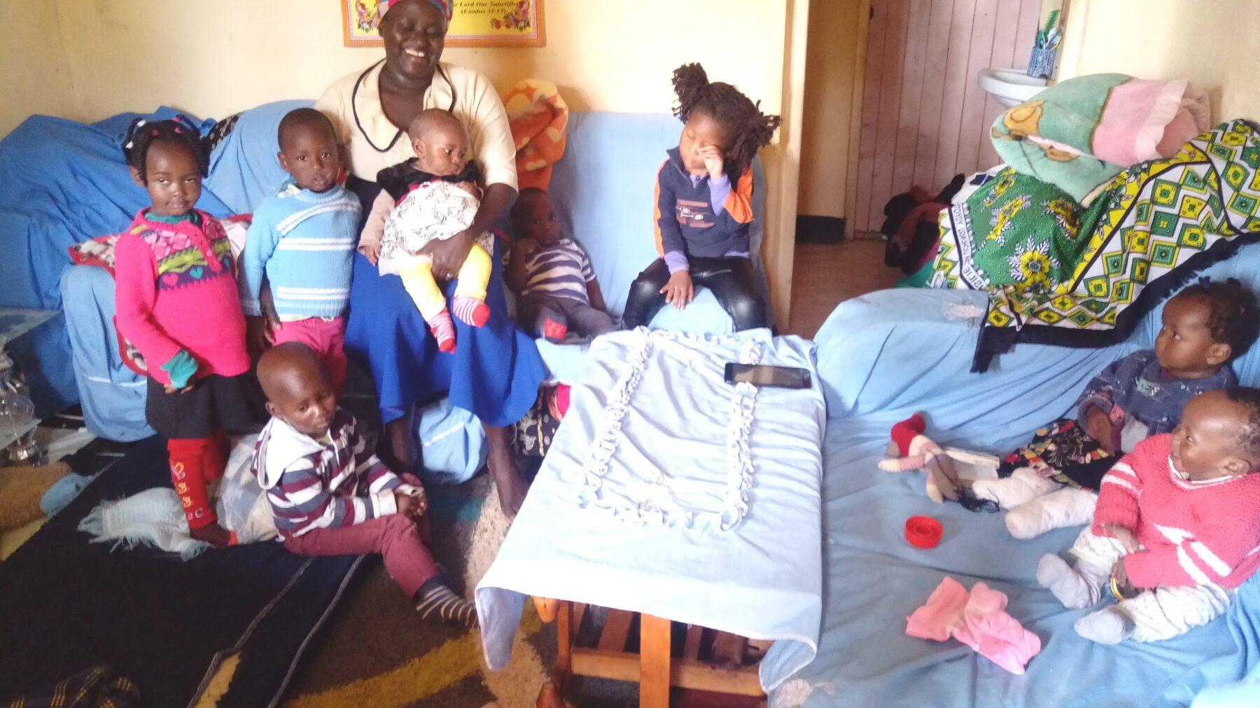 Kids and fridah
