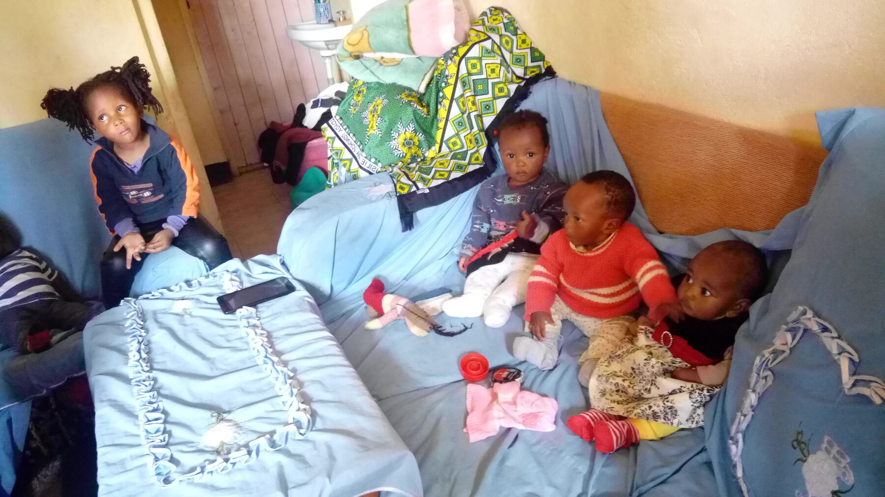 Some of the kids in the day care programme