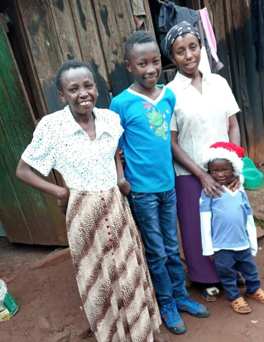 Catherine Wanjiru's family wishes you a merry christmas