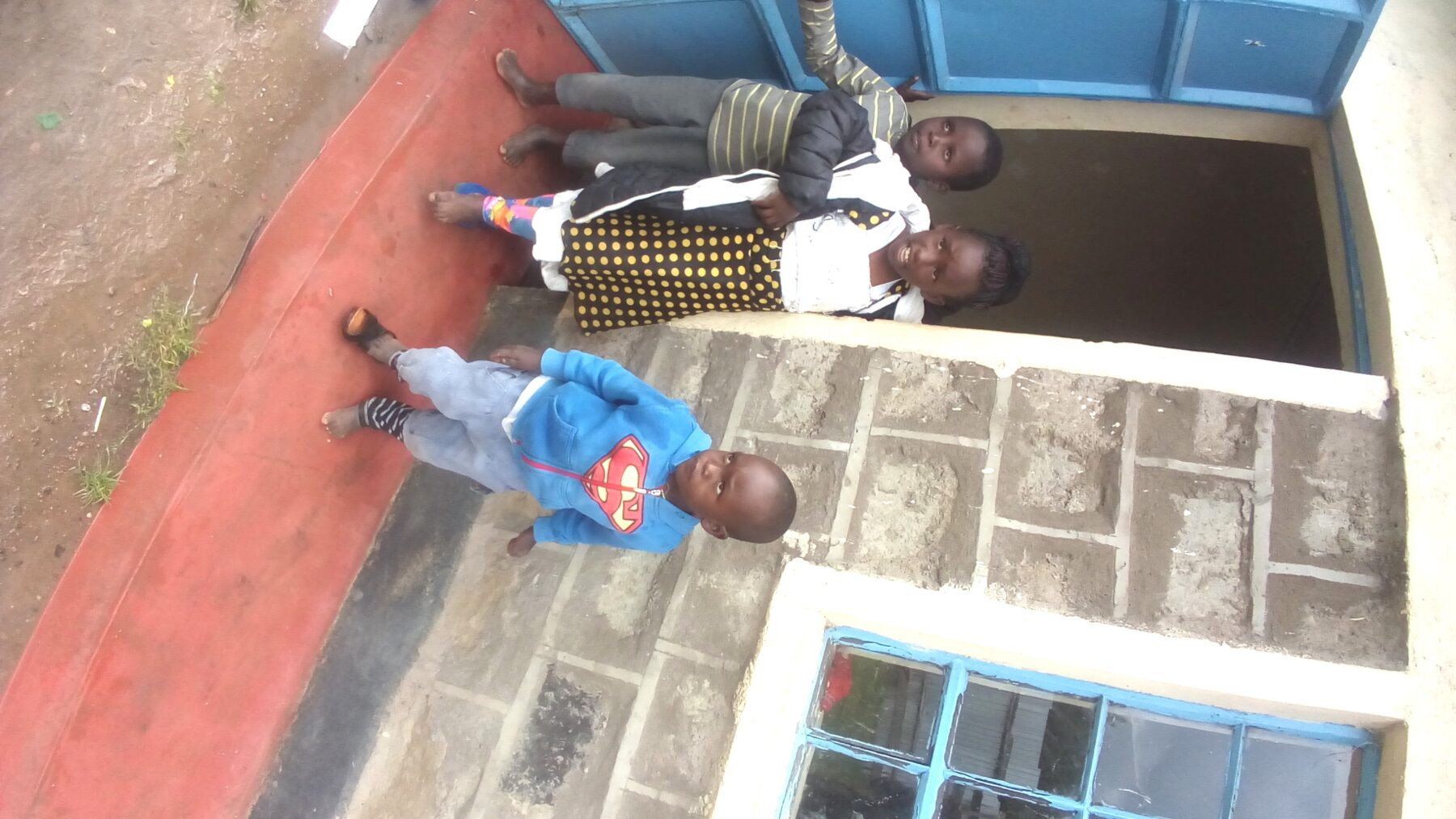Kids at the home