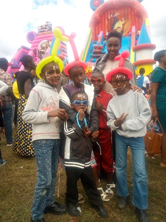 Us at the show ground